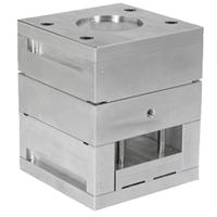 molde base de aluminio