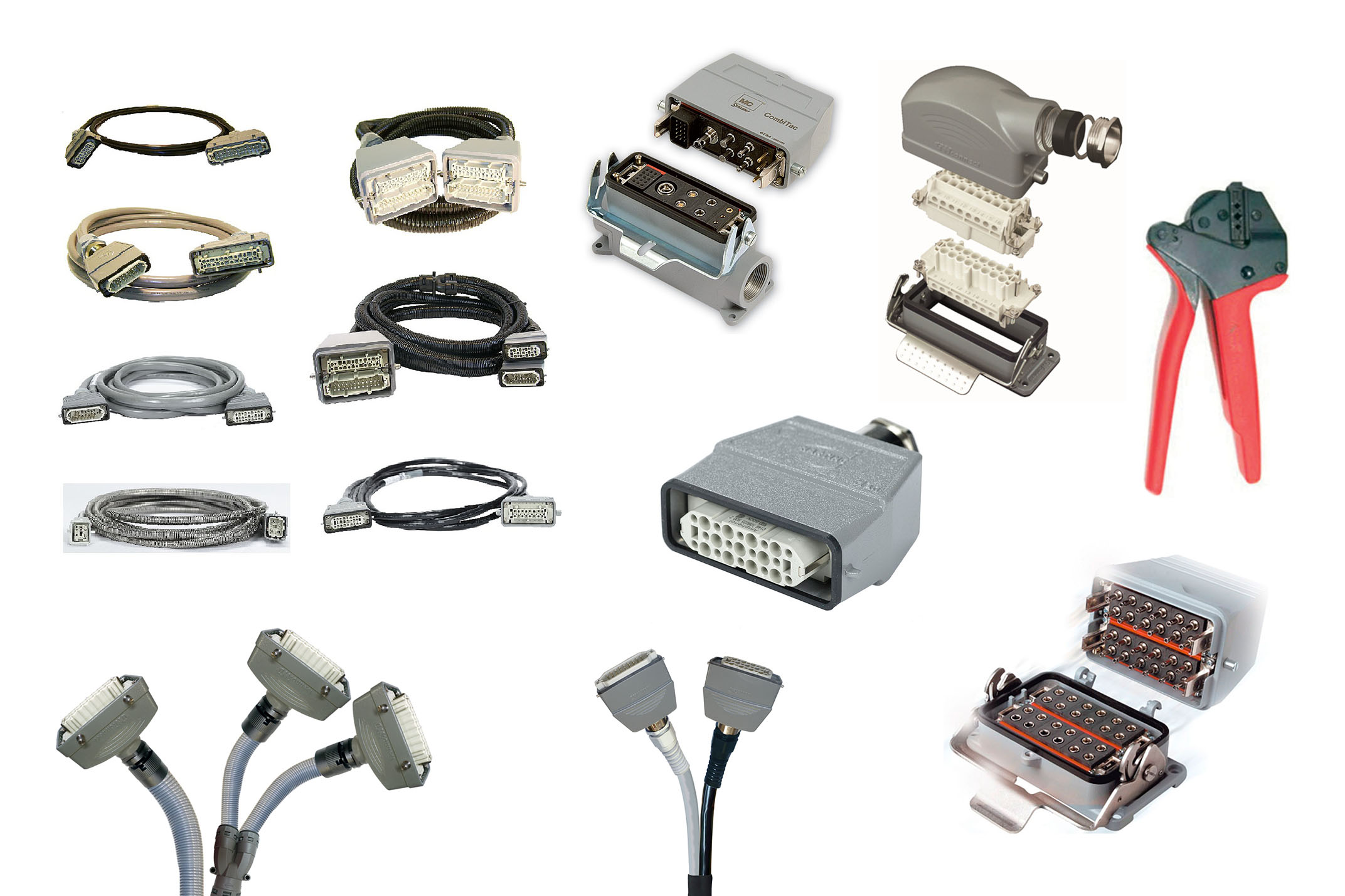 Power & thermocouple cables and connectors