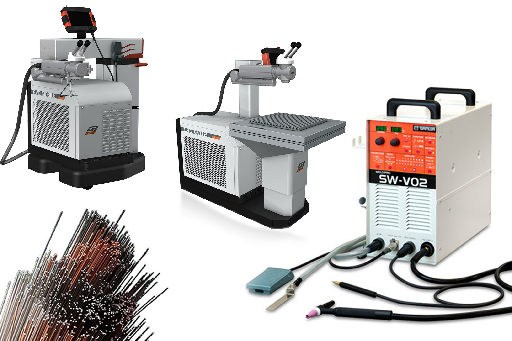 Laser welding & engraving machines