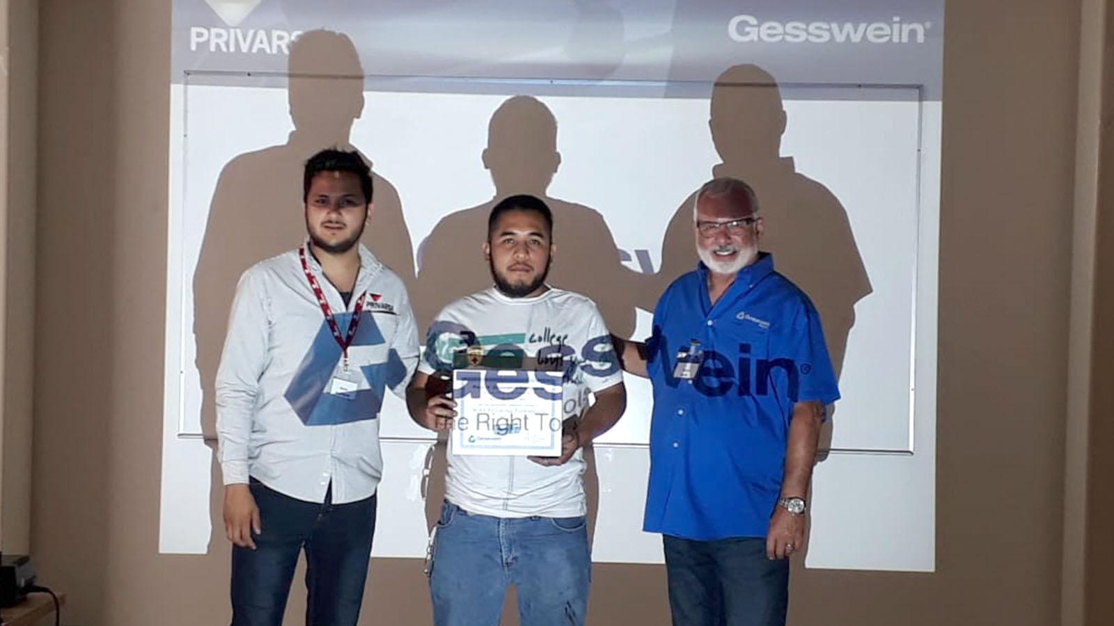 graduados curso PRIVARSA y Gesswein