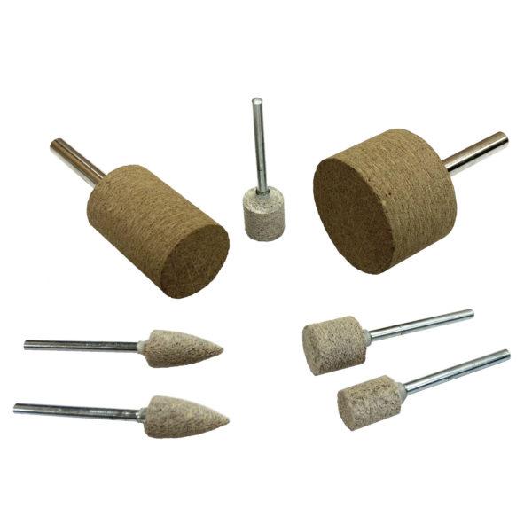 MX cotton fiber mounted points