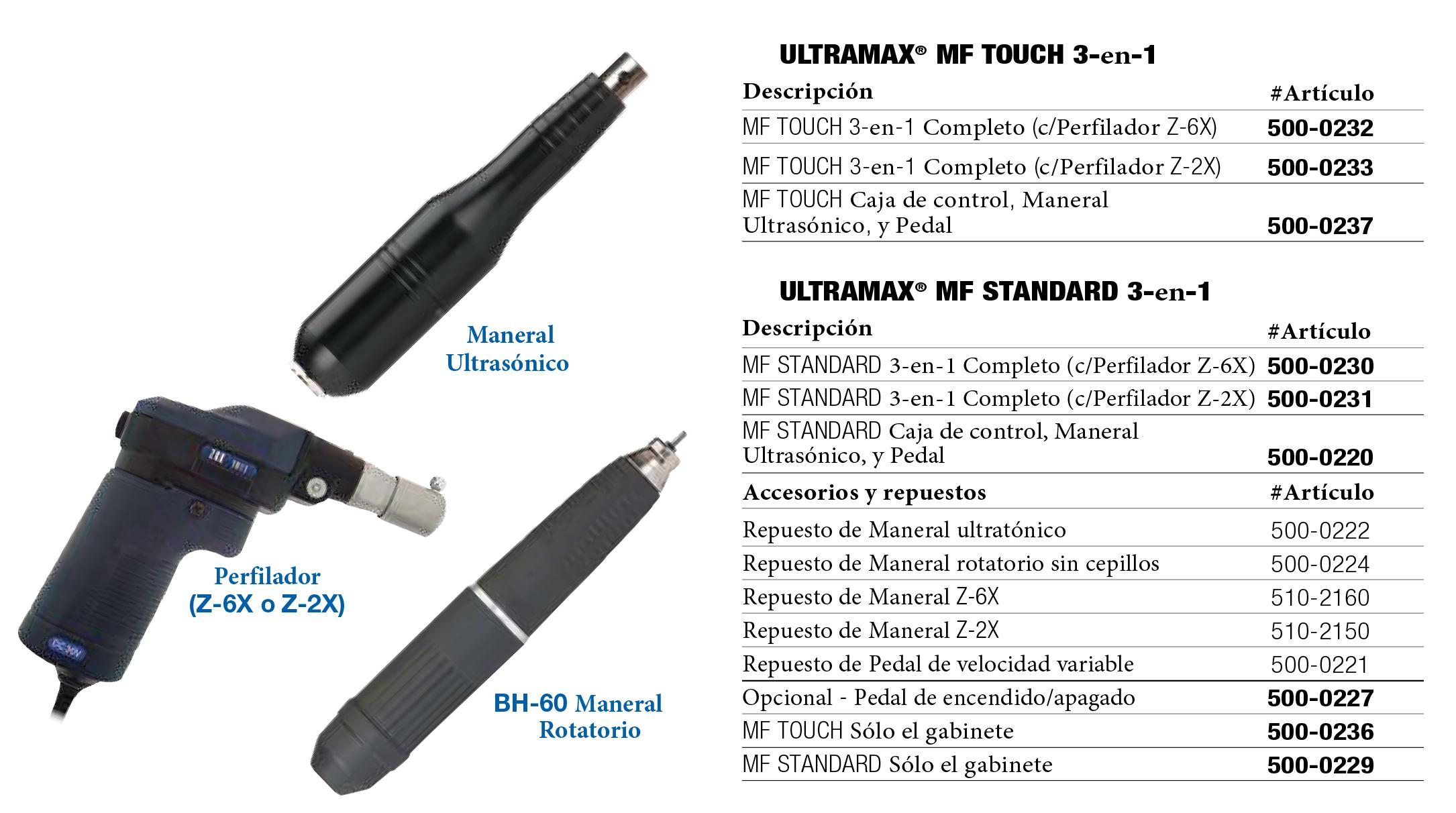 Ultramax MF (ficha)