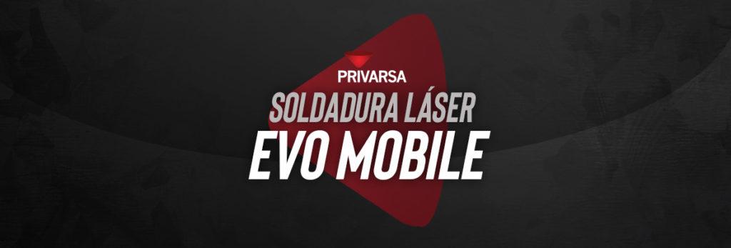 portada de blog sobre soldadura laser evo mobile