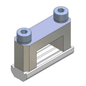Elementos de unión en Cruz para Perfil - alto 18x10