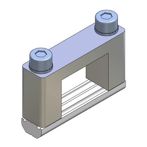 Elementos de unión en Cruz para Perfil - alto 25x18