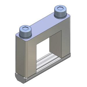 Elementos de unión en Cruz para Perfil - alto 25x25