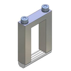 Elementos de unión en Cruz para Perfil - alto 25x50