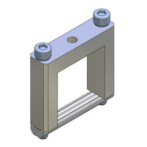 Elementos de unión en Cruz para Perfil - alto 40x40