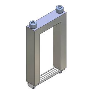 Elementos de unión en Cruz para Perfil - alto 40x80