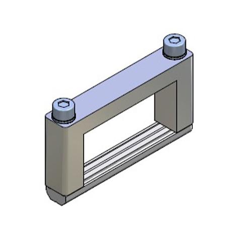 Elementos de unión en Cruz para Perfil - alto 50x25