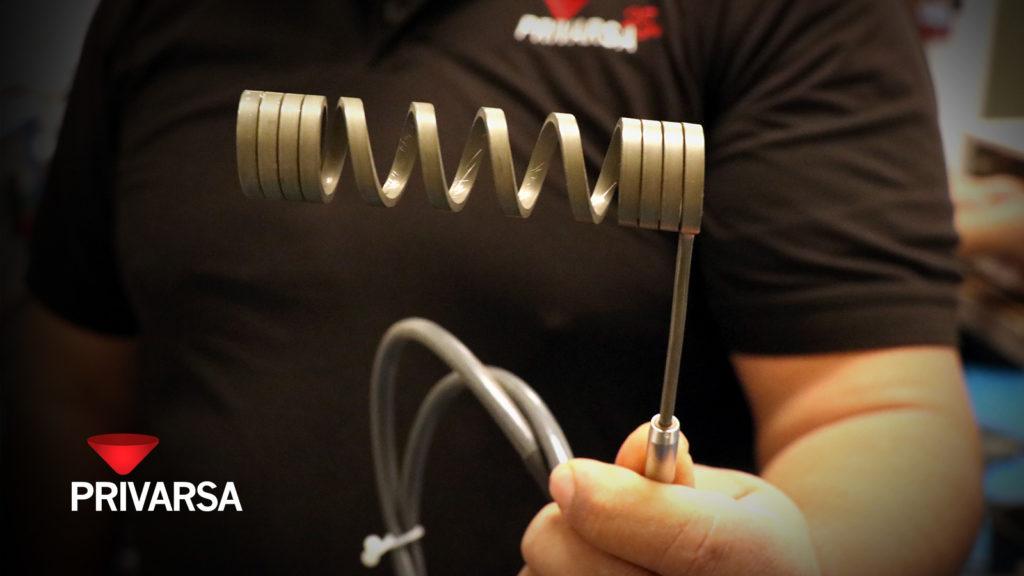 Servicio de fabricación de resistencias eléctricas en espiral