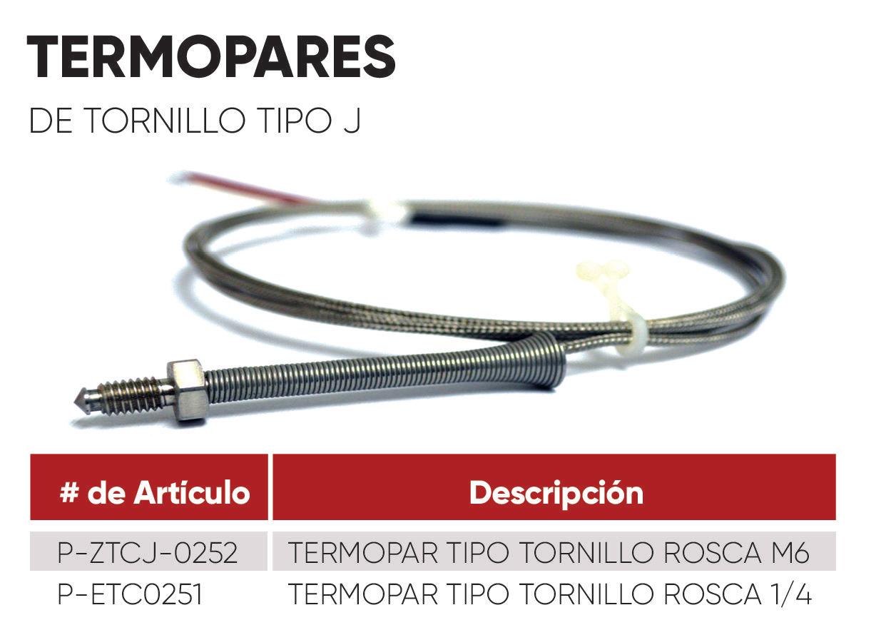 Termopar Tornillo (ficha)