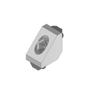 Conector Perfil Angular 22X22X16