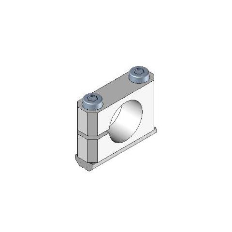 Pieza de apriete en Cruz tubo 20 X