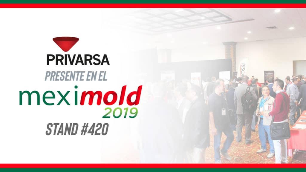 PRIVARSA stand en Meximold 2019