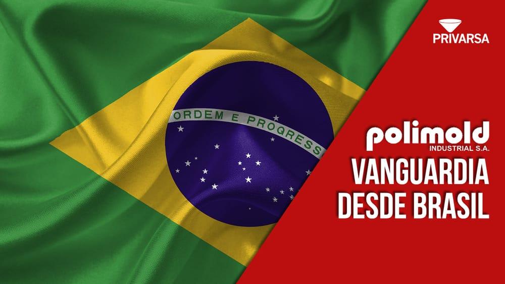 bandera de brasil con banner de PRIVARSA