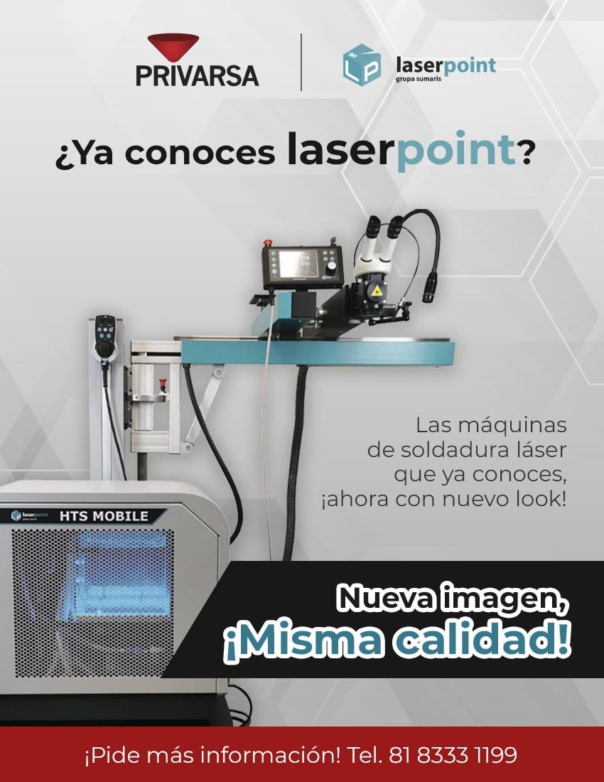 promoción de máquina de soldadura laser Laser Point